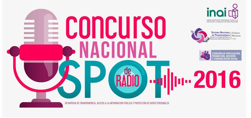 Concurso Nacional de Spots de Radio 2016