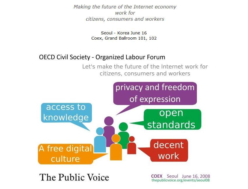 Declaración de Seúl. Conferencia Ministerial de la OECD sobre el futuro de la economía en Internet